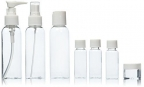 7 pcs Travel Bottles Set