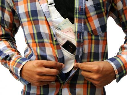 Secret Under Clothes Wallet